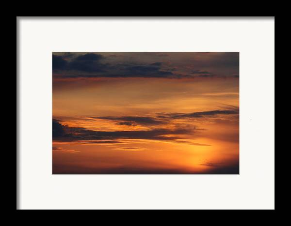 Clouds Framed Print featuring the photograph Reach For The Sky 10 by Mike McGlothlen
