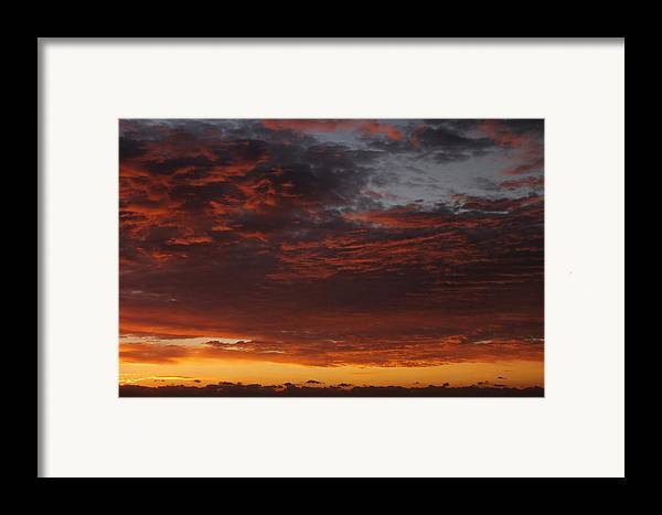 Sunset Framed Print featuring the photograph Reach For The Sky 12 by Mike McGlothlen