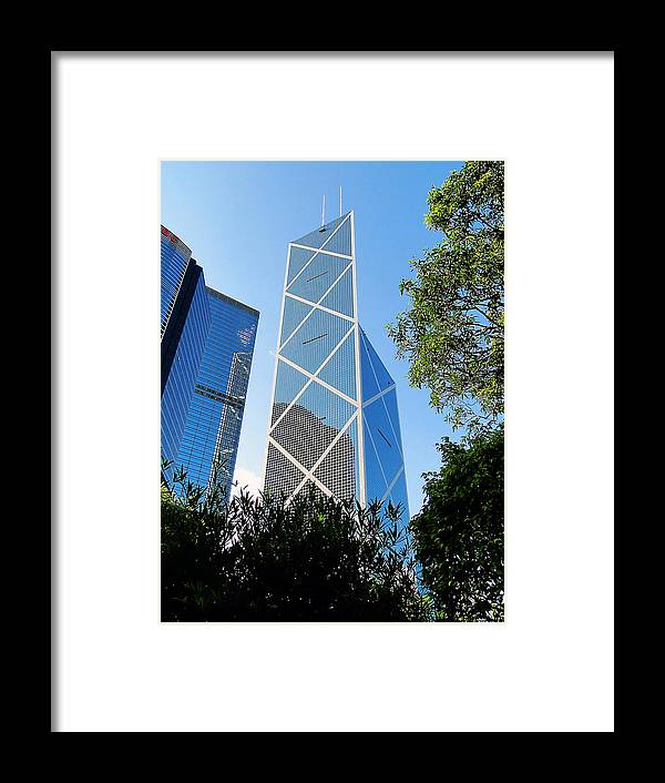 Skyscraper Framed Print featuring the photograph Reach To The Sky by Blair Wainman