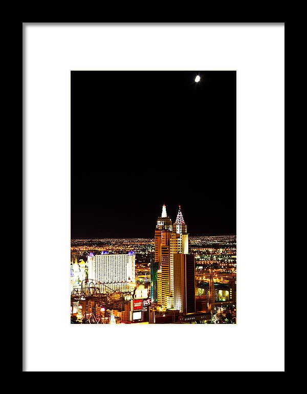 Nevada Framed Print featuring the photograph Reaching For The Half Moon by James Marvin Phelps