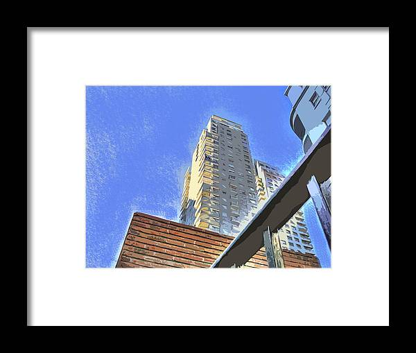 Building Framed Print featuring the photograph Reaching For The Sky by Francisco Colon