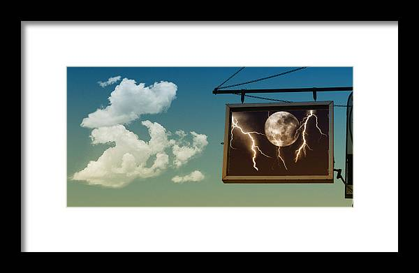 Sky Framed Print featuring the photograph Read The Signs by Kristie Bonnewell