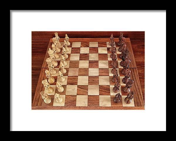 Board Framed Print featuring the photograph Ready for Battle by Sandeep Gangadharan