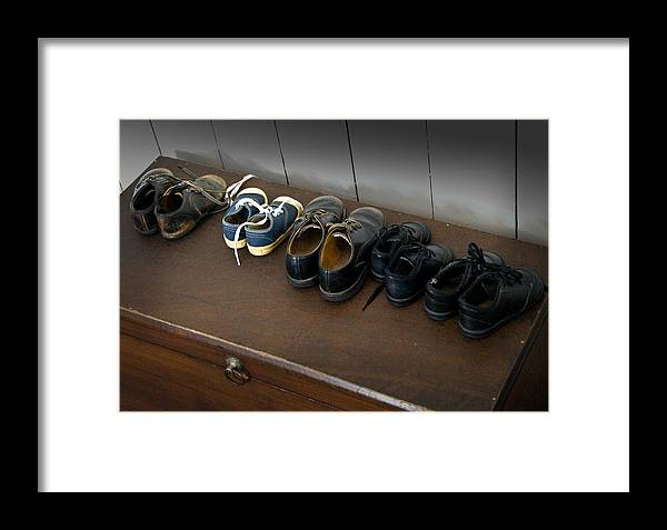 Amish Framed Print featuring the photograph Ready For School by Fred Lassmann