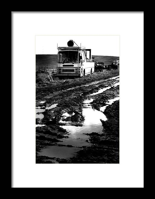 Jez C Self Framed Print featuring the photograph Ready To Fire You by Jez C Self