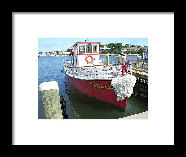 Boat Framed Print featuring the photograph Ready Willing And Able by Peter Williams