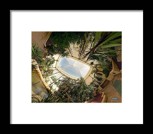 Real World Framed Print featuring the digital art Real World by Maye Loeser