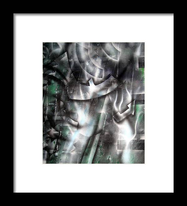 Paint Framed Print featuring the painting Rebirth by Leigh Odom