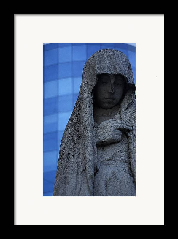 Recoleta Framed Print featuring the photograph Recoleta Statue by Marcus Best