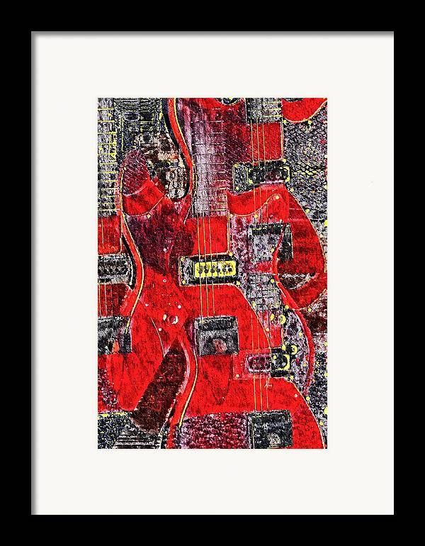 Guild Framed Print featuring the photograph Red Devil by Bill Cannon