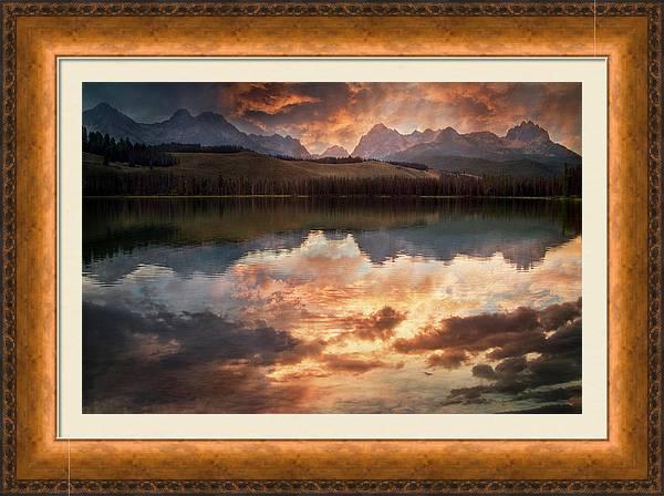 Red Fish Lake by Cindy Kassab