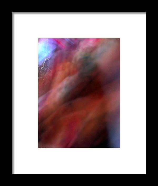 Abstract Framed Print featuring the photograph Red Shift by Jane Tripp