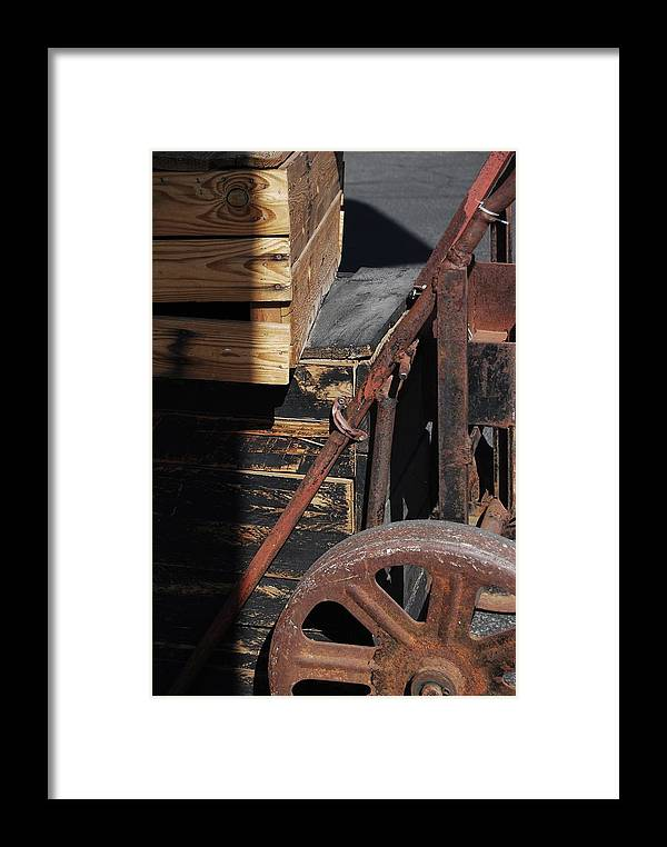 Sustainability Framed Print featuring the photograph Reduce Reuse Recycle by Sean-Michael Gettys