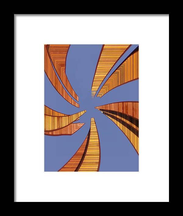 Seattle Framed Print featuring the digital art Reeds 2 by Tim Allen