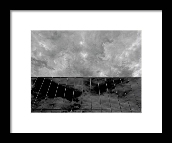 Clouds Framed Print featuring the photograph Reflected Clouds by Robert Ullmann
