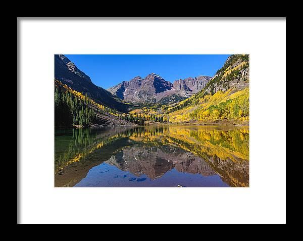 Aspen Framed Print featuring the photograph Autumn Bells by Ryan Moyer