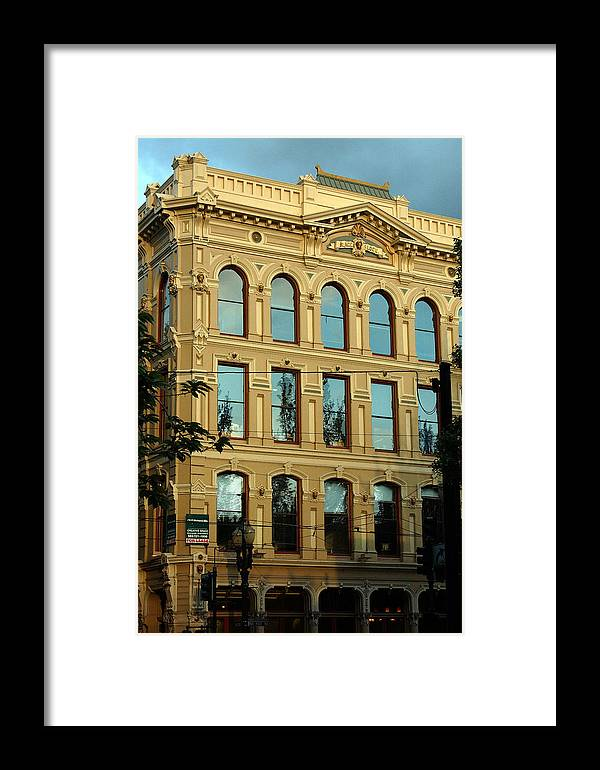 Portland Oregon Framed Print featuring the photograph Reflecting On Portland by Heather S Huston