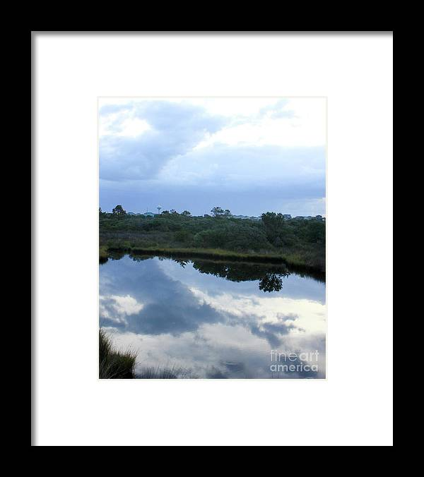 Nature Framed Print featuring the photograph Reflection by Linda Langston