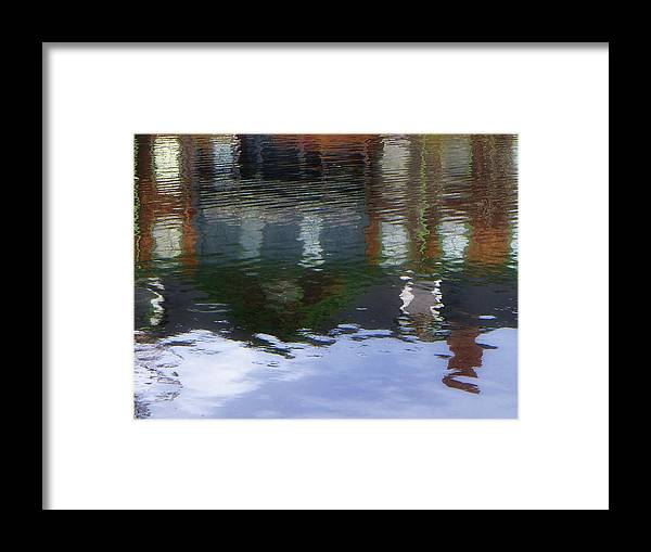 Connetquot Park Framed Print featuring the photograph Reflection, No. 1 In Connetquot State Park by Cheryl Kurman