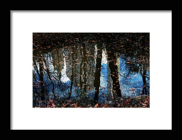 New York Framed Print featuring the photograph Reflection 3 by Maria Askedal