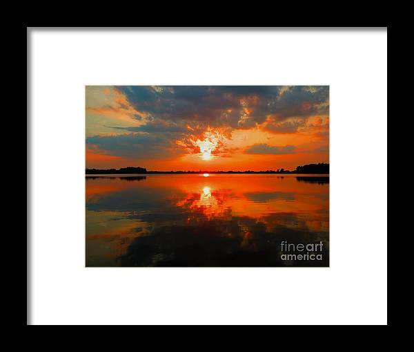 Framed Print featuring the photograph Reflection Of Beauty by William Caine