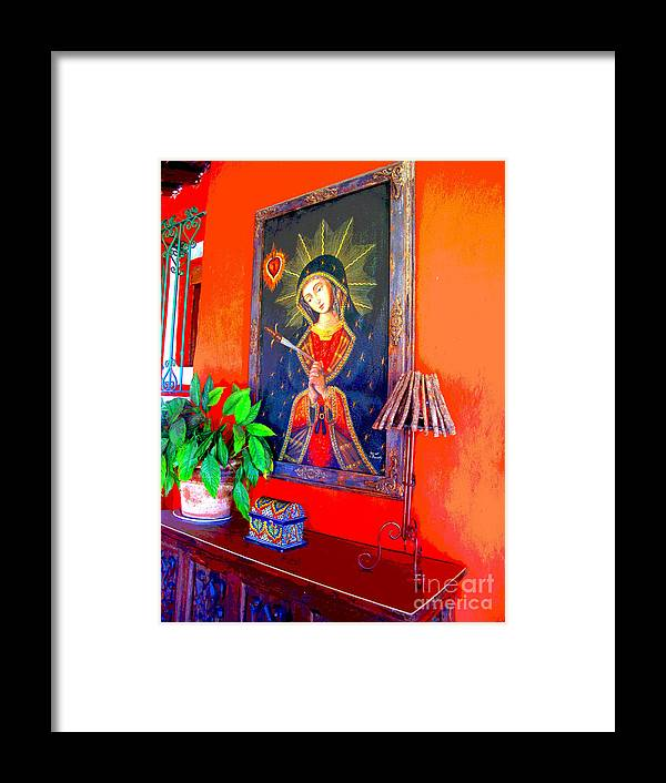 Darian Day Framed Print featuring the photograph Reflections By Darian Day by Mexicolors Art Photography