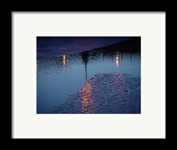 Water Framed Print featuring the photograph Reflections by Eric Workman