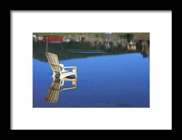 Water Framed Print featuring the photograph Reflections Fine Art Photography Print by James BO Insogna