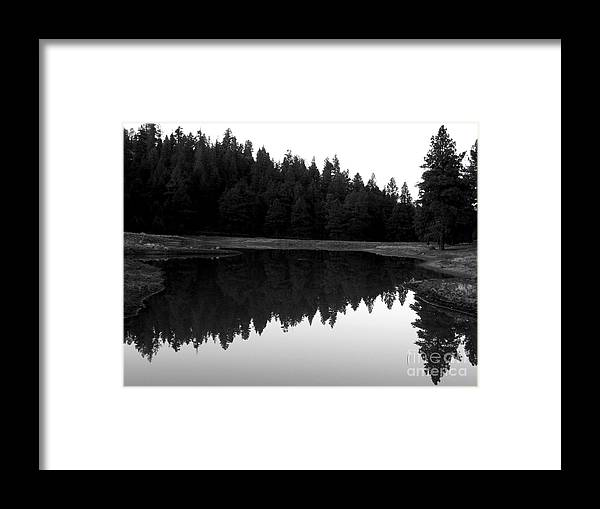 Northern Arizona Framed Print featuring the photograph Reflections by Kenneth Hess