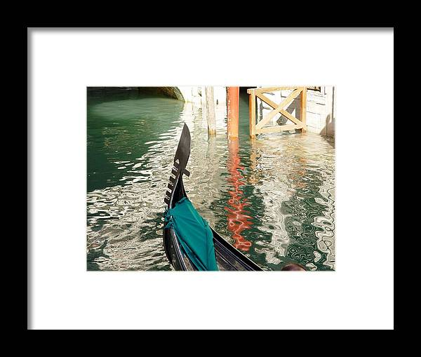 Italy Framed Print featuring the photograph Reflections Of Italy 1. by Nancy Bradley