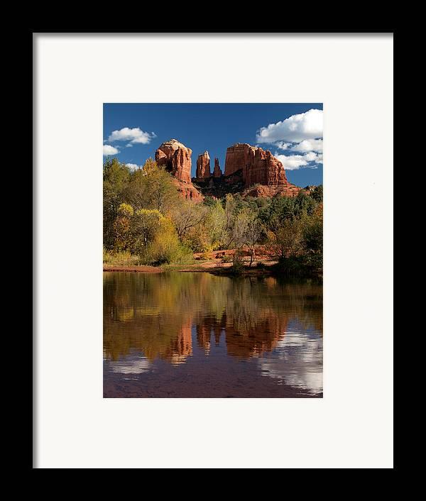 Sedona Framed Print featuring the photograph Reflections Of Sedona by Joshua House