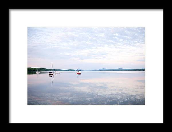 Sail Framed Print featuring the photograph Reflexion I by Martin Rochefort