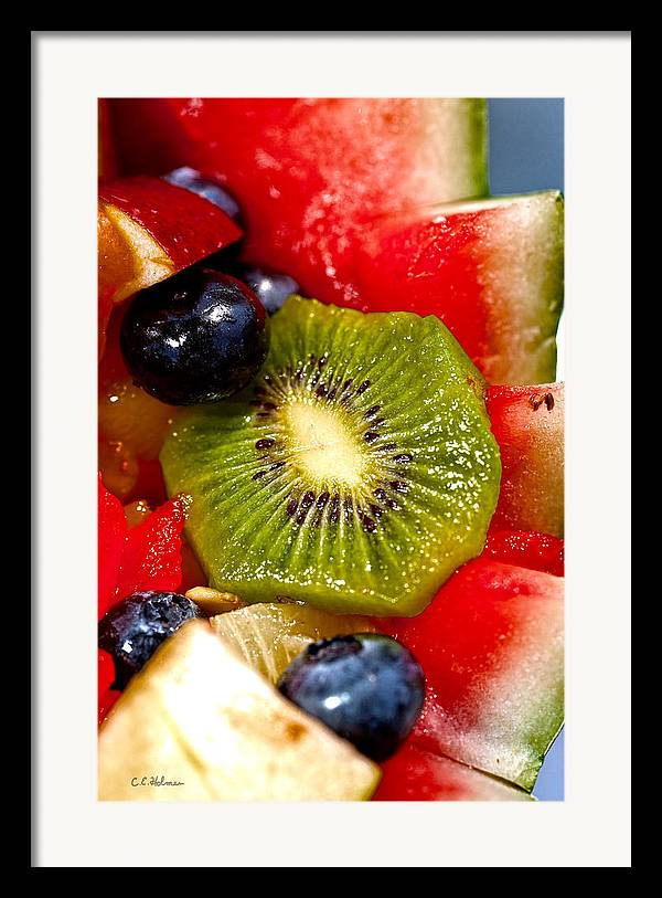 Fruit Framed Print featuring the photograph Refreshing by Christopher Holmes