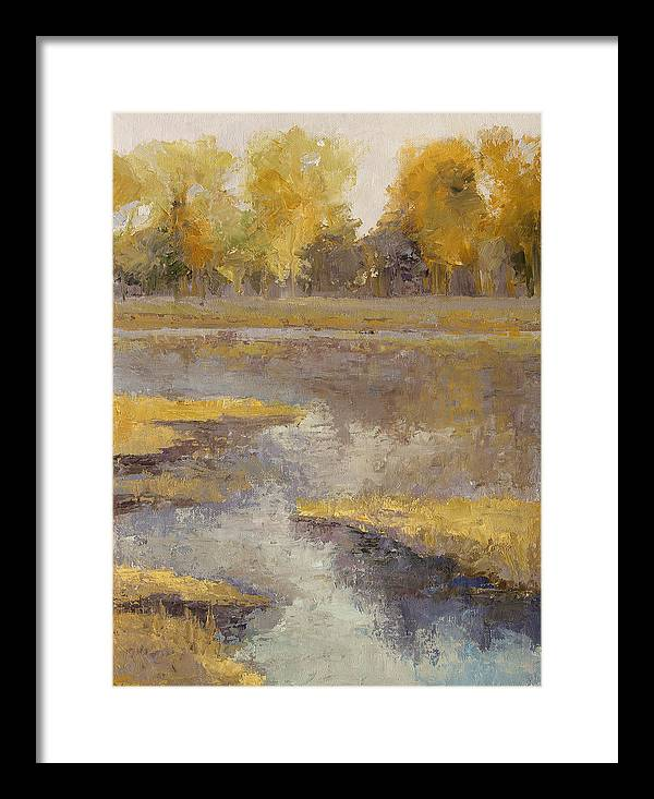 Janet Fons Framed Print featuring the painting Refuge by Janet Fons