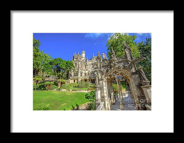 Sintra Framed Print featuring the photograph Regaleira Sintra Portugal by Benny Marty