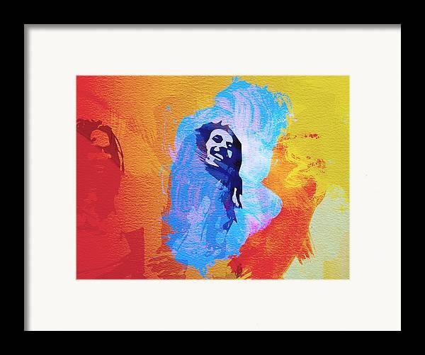 Reggae Kings Framed Print featuring the painting Reggae Kings by Naxart Studio