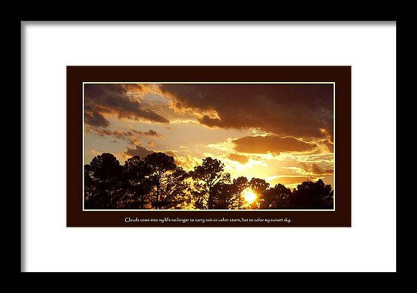 Rejoice Framed Print featuring the photograph Rejoice by Ginger Howland
