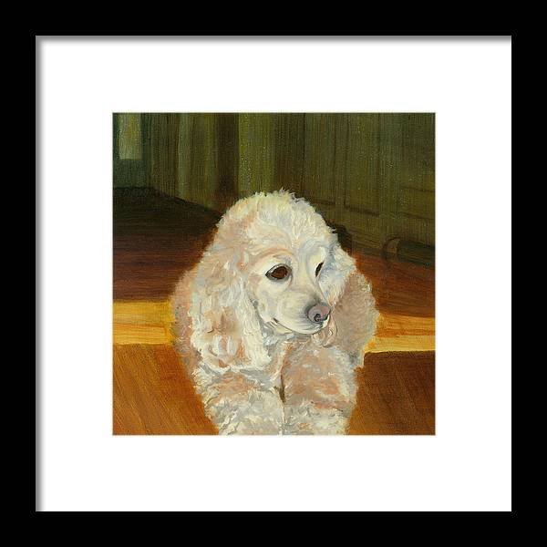 Animal Framed Print featuring the painting Remembering Morgan by Paula Emery