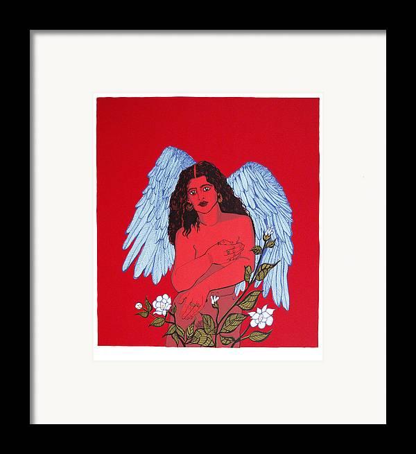 Mirta Toledo Framed Print featuring the print Renacimiento by Mirta Toledo