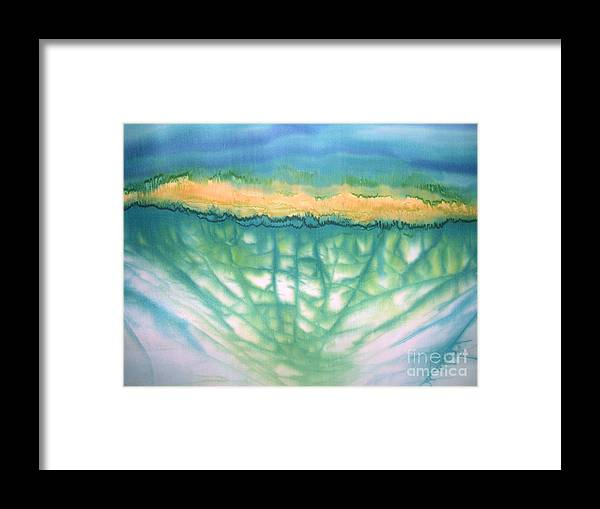 Painting Framed Print featuring the painting Renewal by Addie Hocynec
