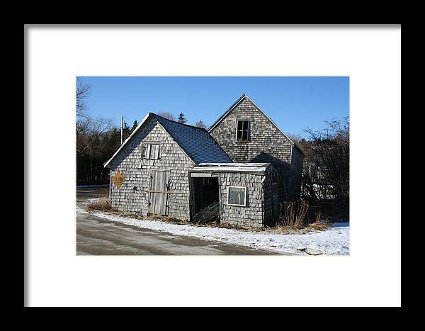 Landscape Framed Print featuring the photograph Retired by Doug Mills