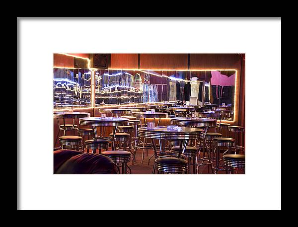 Club Framed Print featuring the photograph Retro by Jessica Wakefield