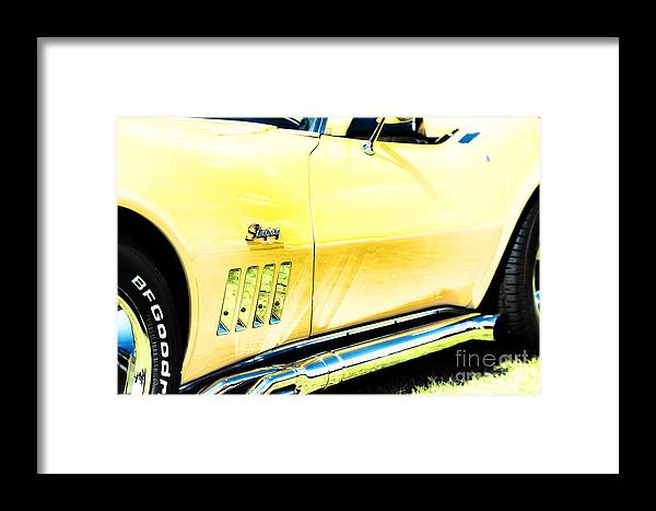 1972 Framed Print featuring the photograph Retro Stingray by Tim Gainey