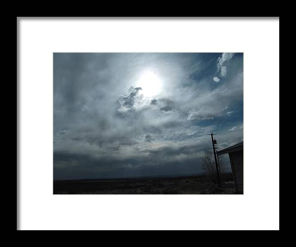 Framed Print featuring the photograph Returning Sunshine by Curtis Willis