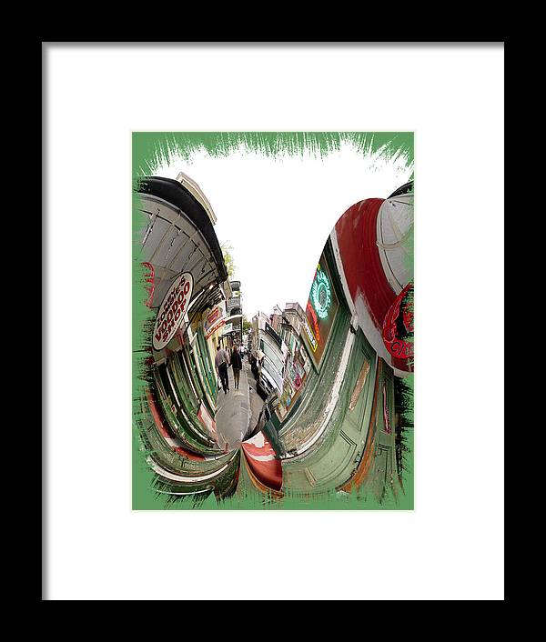 New Orleans Framed Print featuring the photograph Rev Zombie Twisted by Linda Kish