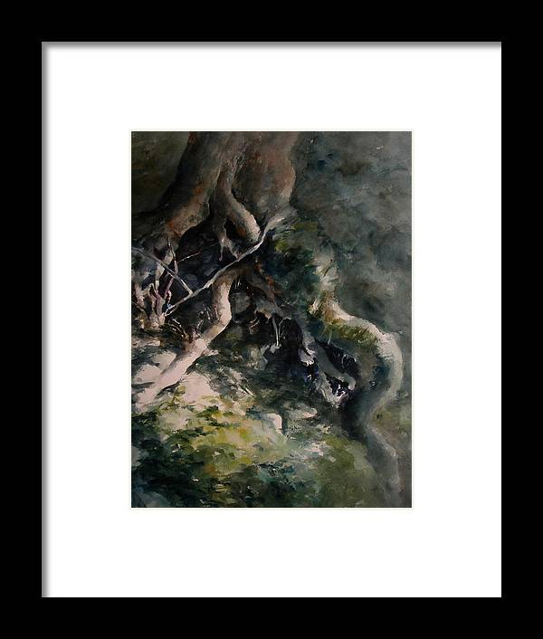 Nature Framed Print featuring the painting Revealed by William Russell Nowicki
