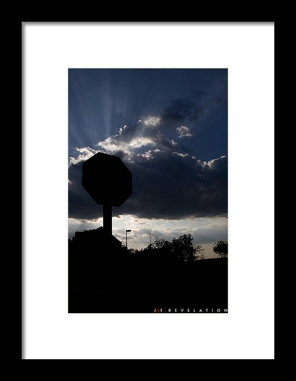 Sky Framed Print featuring the photograph Revelation by Jonathan Ellis Keys