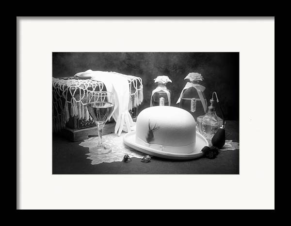 Hat Framed Print featuring the photograph Revelry by Tom Mc Nemar
