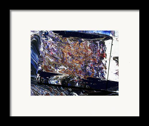 Fusionart Framed Print featuring the painting Revolution by Ralph White