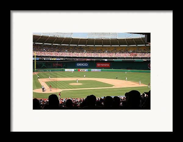 Washington Framed Print featuring the photograph Rfk Stadium by Lance Freeman